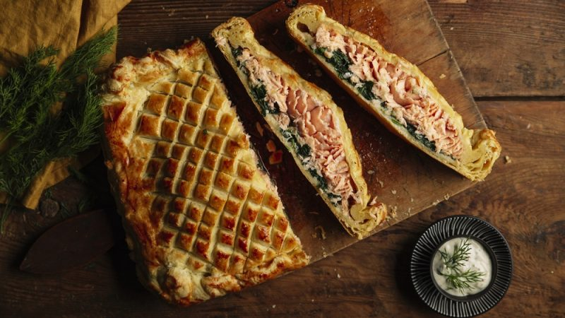 Best Side Dishes That Compliment Salmon Wellington Well
